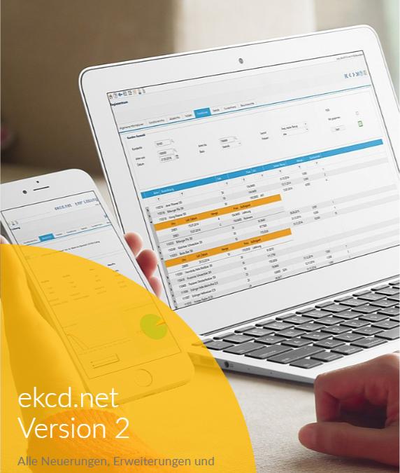 ekcd.net Version 2 steht nun zur Auslieferung für Sie bereit